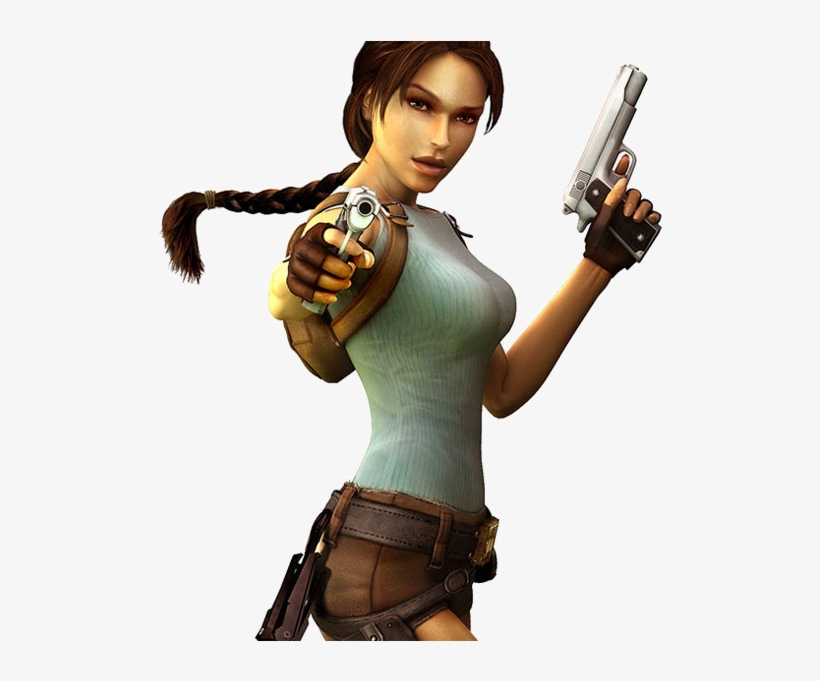 Lara Croft Transparent Background Png Easy Tomb Raider Costume Transparent Png 630x600 Free Download On Nicepng