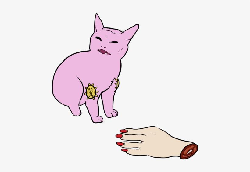 View Samegoogleiqdbsaucenao Killer Queen 2 , - Killer Queen Jojo Cat  Transparent PNG - 540x494 - Free Download on NicePNG