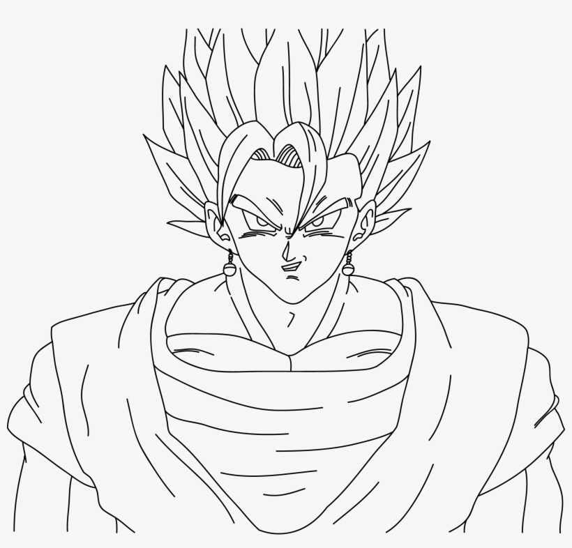 Ssj Vegeto - Free Coloring Pages