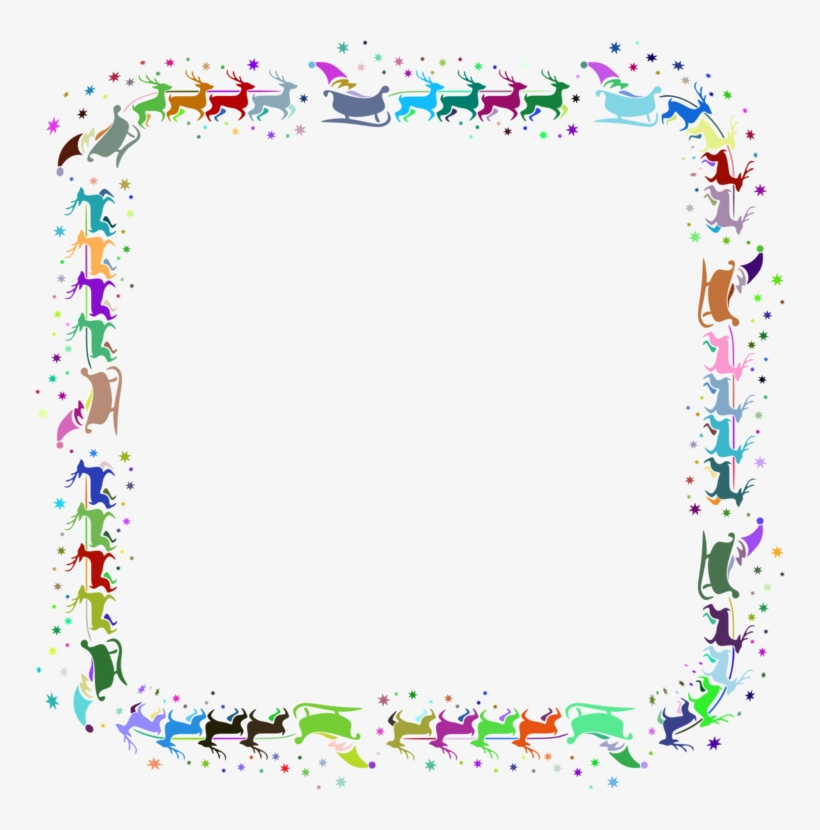 Butterfly Borders And Frames Flower Floral Design Document Word