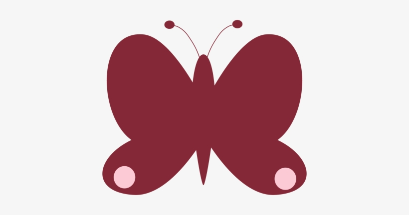 Pink Butterfly Clipart Png Butterfly Pink Red Transparent Png