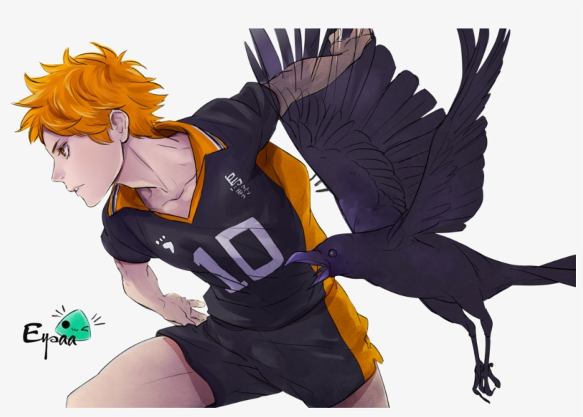 Spike Hinata Shouyou Render Transparent Png 1024x683 Free