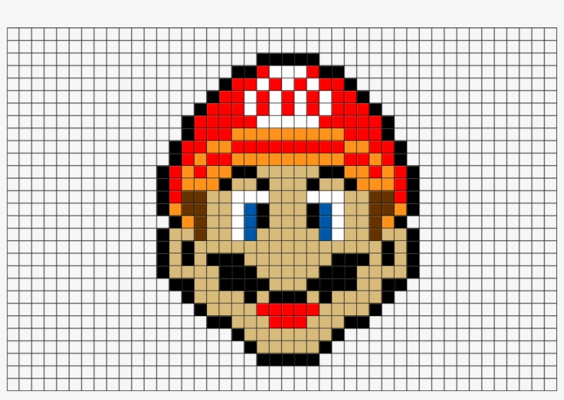 Mario Pixel Art Brik Pixel Mario Transparent Png 880x581 Free Download On Nicepng