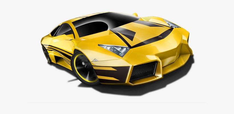 Lamborghini Reventon Yellow W Black Stripes Mattel Hot Wheels