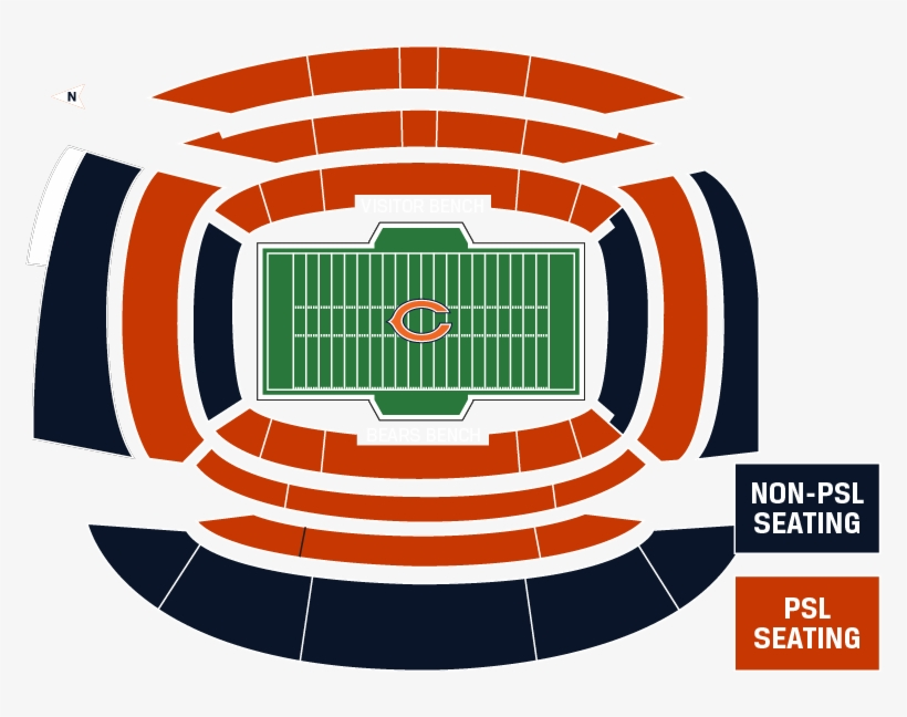 Seating Information Chicago Bears Stadium Seating Chart