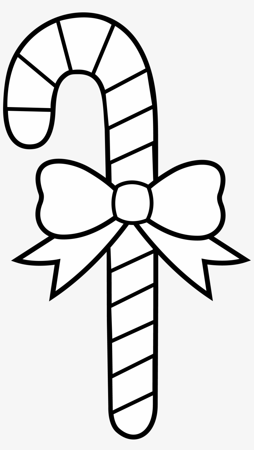 Xmas Stuff For Christmas Candy Cane To Color Transparent Png