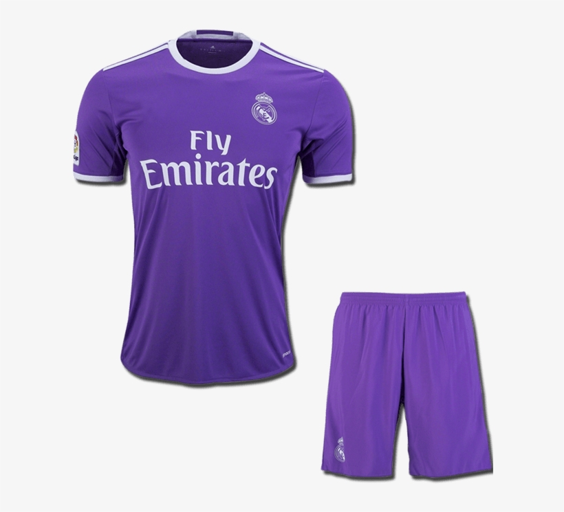 meet 290a5 6ecff Kids Real Madrid Football Jersey And Shorts Away 16 - Adidas ...