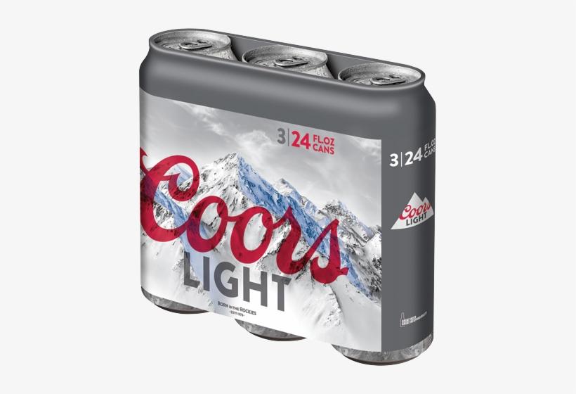 Coors Light 16 Oz 12 Pack