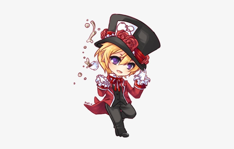 b9381132f 28 Collection Of Cute Mad Hatter Drawing - Mad Hatter Anime Drawings ...