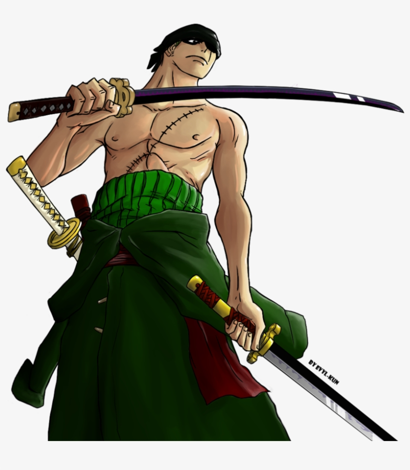 Zoro New World Png Roronoa Zoro Dopo 2 Anni Transparent Png 900x982 Free Download On Nicepng
