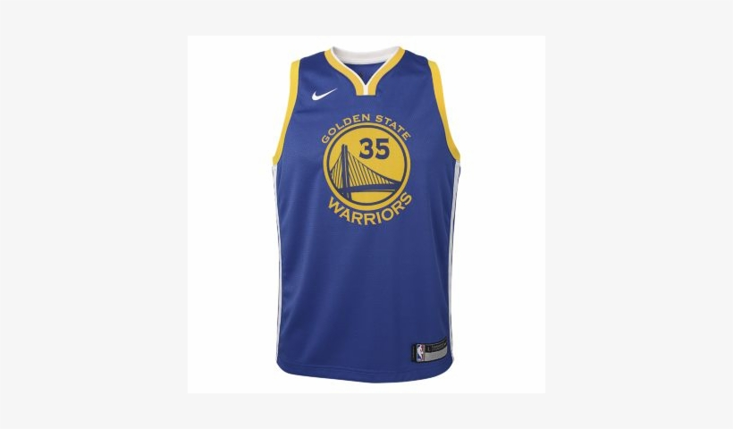 pretty nice c55da 07b23 Kevin Durant Golden State Warriors Nike Icon Edition ...