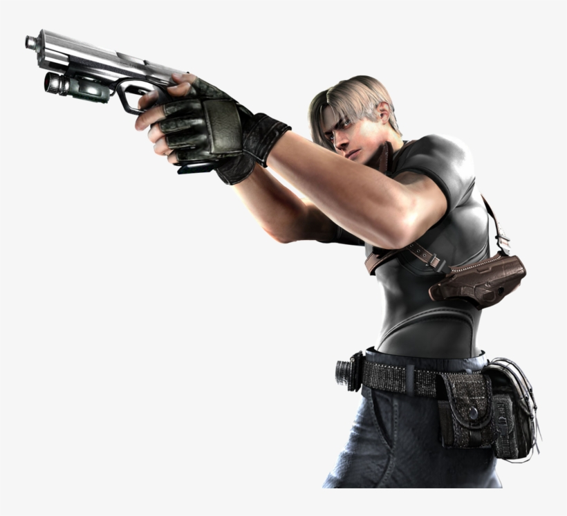 Leon Resident Evil Leon S Kennedy Resident Evil 4 Png Transparent Png 900x675 Free Download On Nicepng