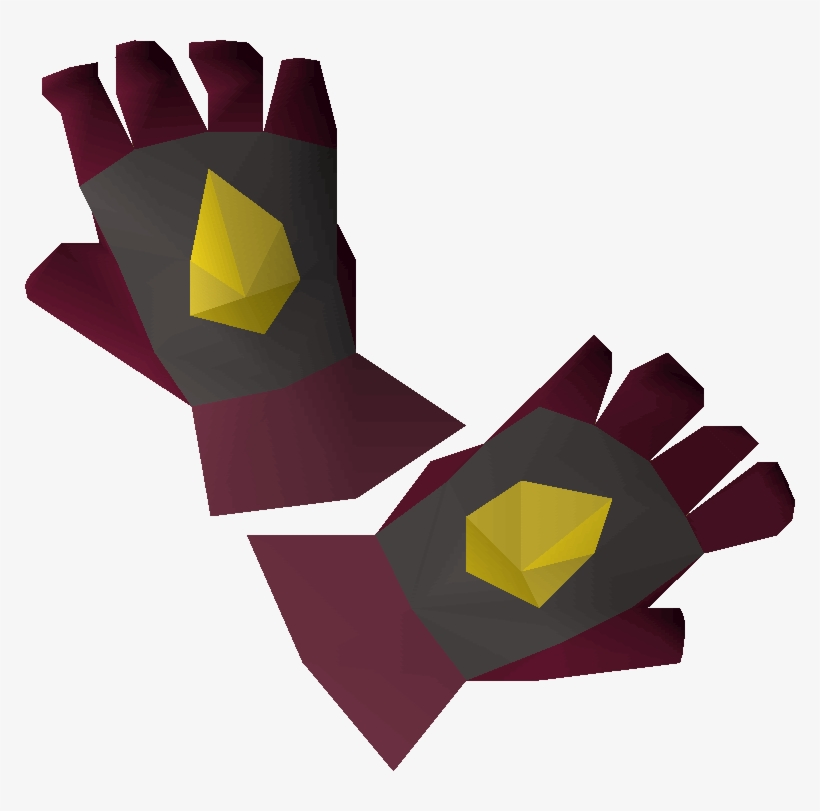 Osrs Gloves Transparent PNG - 770x731 - Free Download on NicePNG