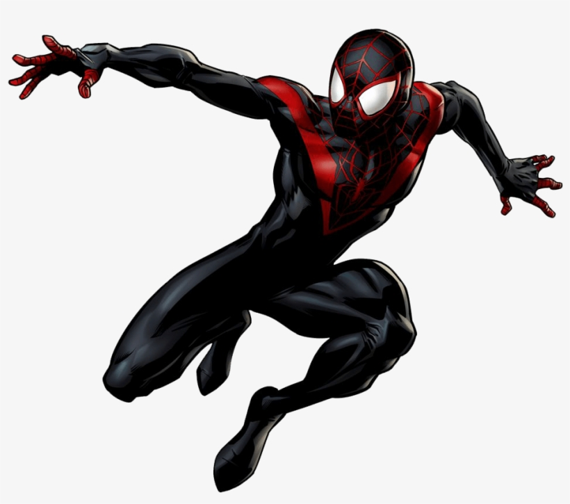 Miles Morales Imagenes De Spiderman Miles Morales Transparent Png 1000x893 Free Download On Nicepng