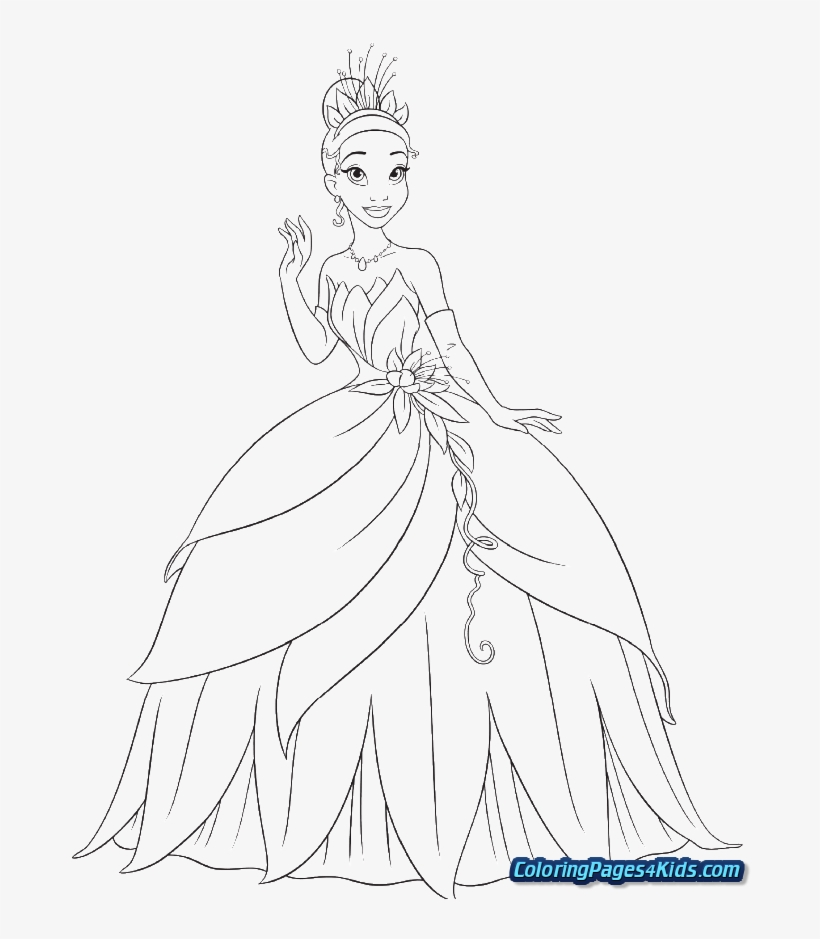 Free, Printable Disney Princess Coloring Pages | 939x820