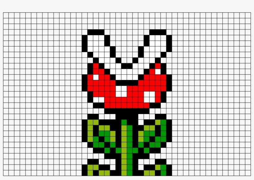 Brik Pixel Art On Twitter Piranha Plant Pixel Art