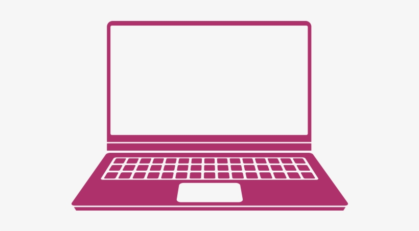 Notebook Clipart Pink - Computer Clipart Pink Transparent PNG - 579x383 -  Free Download on NicePNG