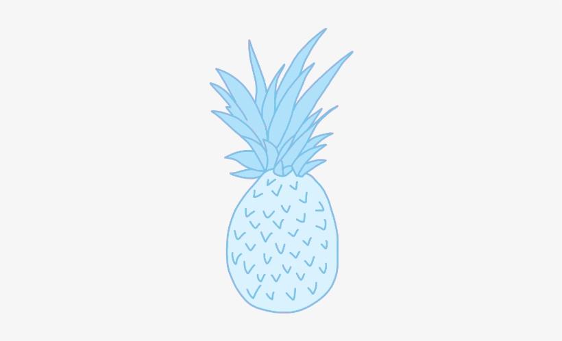 Pineapple Tumblr Transparent New Mermaid Blog - Pineapple