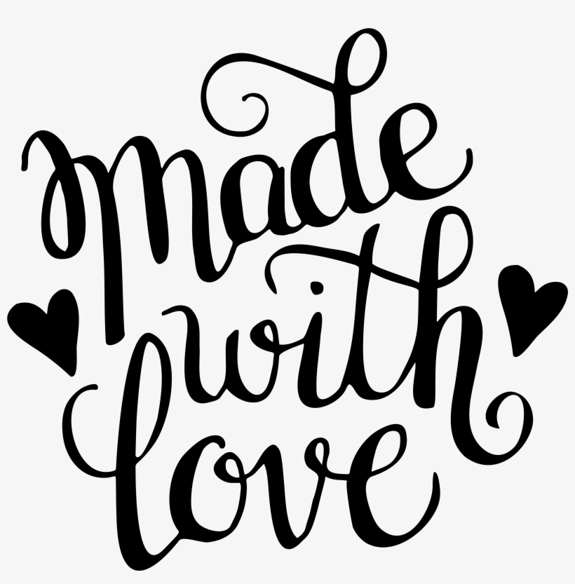 Made With Love Svg Transparent Png 5000x5000 Free Download On Nicepng