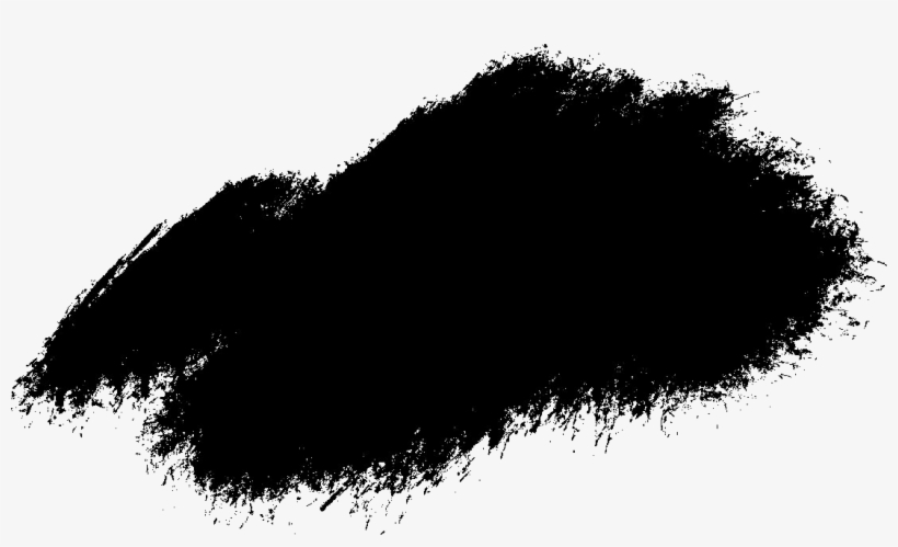 black paint png free download - transparent black paint brush stroke png