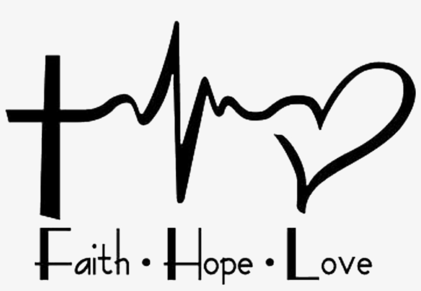 Decal Faith Love Tattoo Text Heartbeat Hope Family Faith Hope Love Hd Transparent Png 1268x818 Free Download On Nicepng