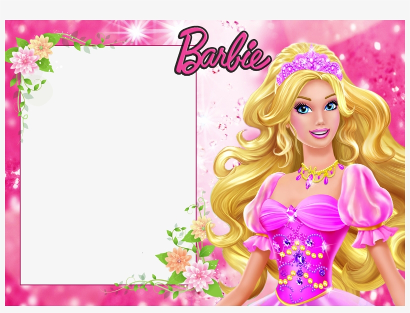 Barbie Background Frame Border Barbie Doll Picture