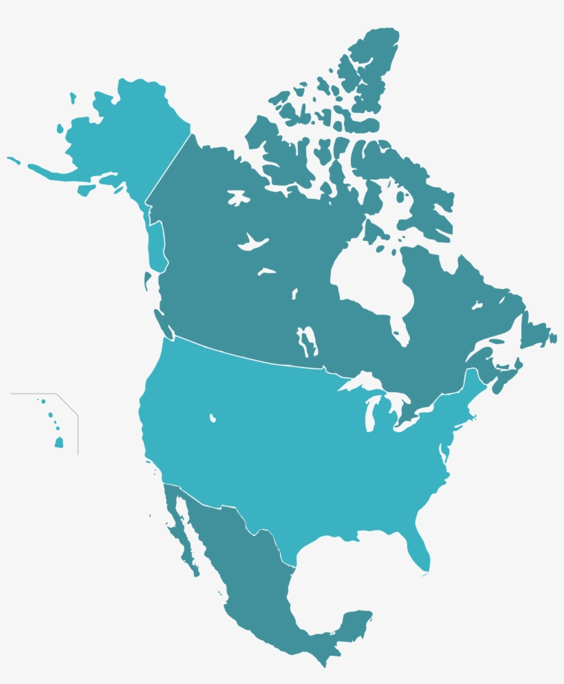2000px Naunion Svg 17 Us Map Transparent - Canada Us And Mexico ...