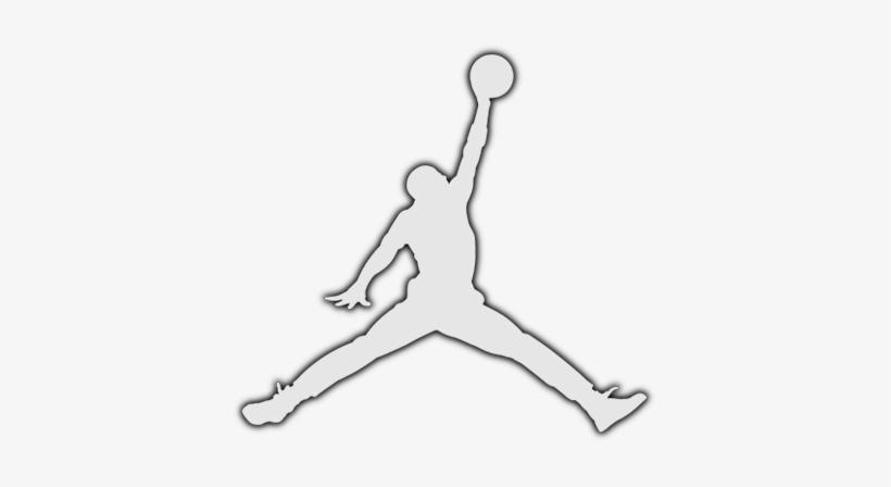 huge discount 4e198 a5b0a Png Download Drawing Jordans Symbol - Jordan Logo Drawing