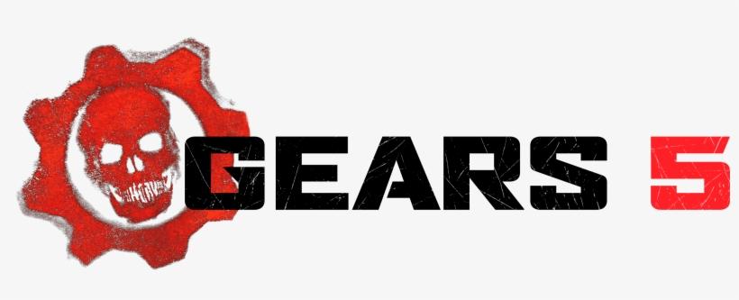 Resultado de imagem para gears 5 logo png