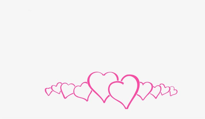 hot pink heart border clip art at clker wedding banner