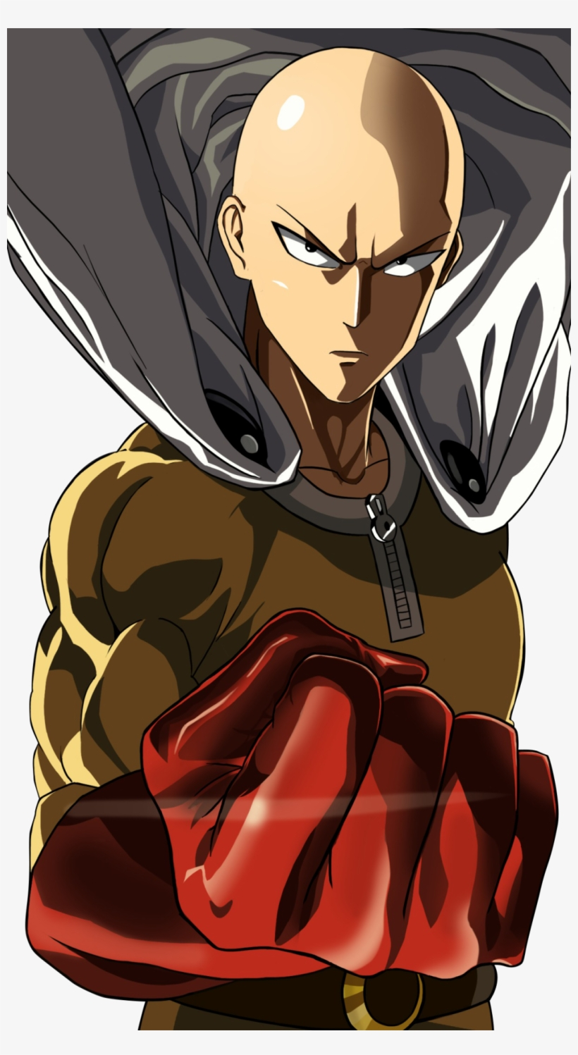 Wallpaper One Punch Man Iphone Transparent Png 1080x1920