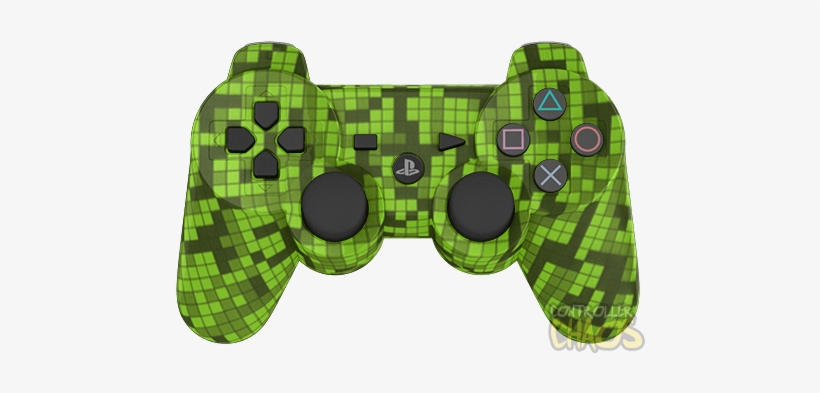 Creeper Playstation 3 Controller Minecraft Transparent Png 474x340 Free Download On Nicepng