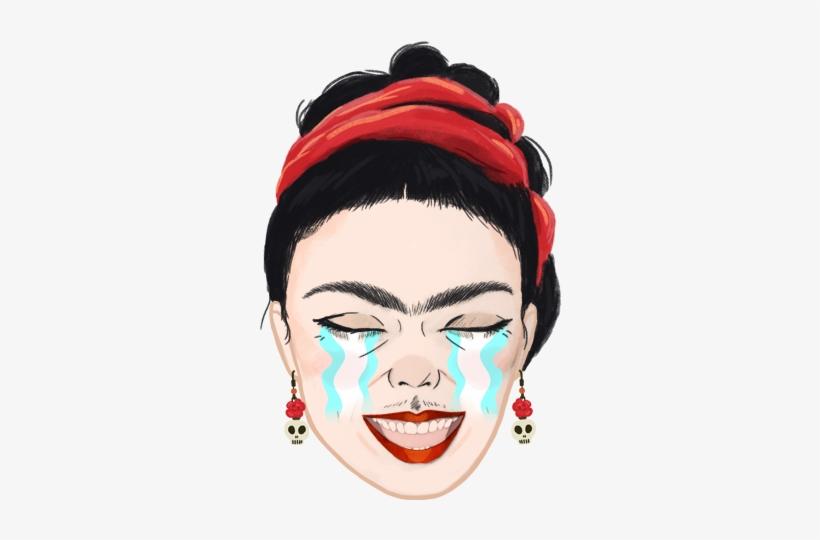 Frida Kahlo Emoji Design Project Headpiece Transparent Png