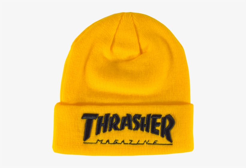 Thrasher Embroidered Logo Black - Thrasher Sticker