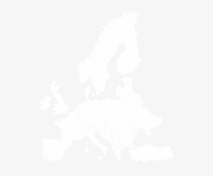 Europe Clipart Black And White - Nvidia Geforce Now Server