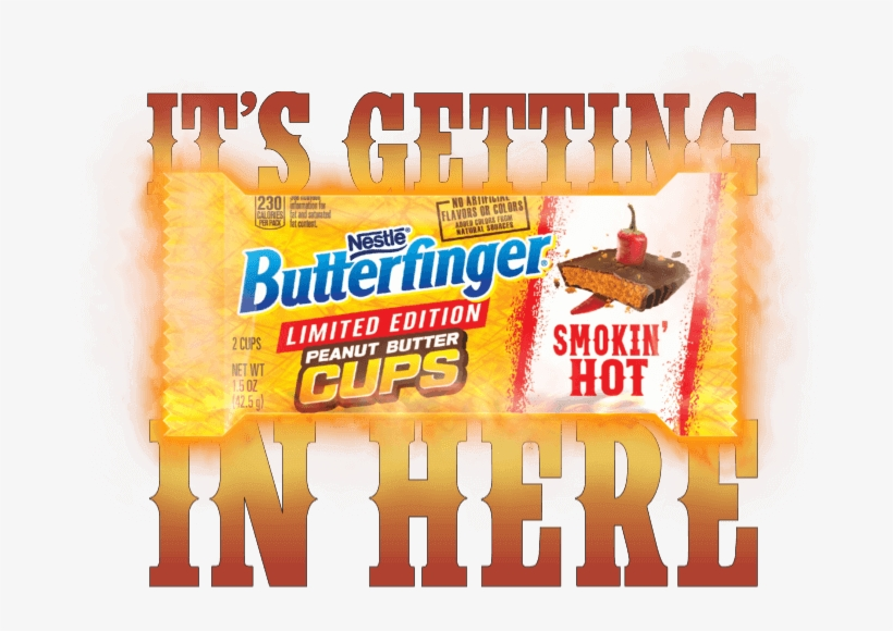 Butterfinger Smokin' Hot Instant Win & Sweepstakes - Butterfinger