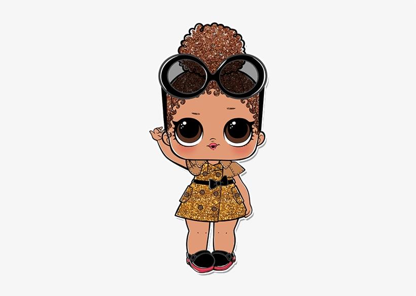 3 001 Boss Queen B Lol Surprise Confetti Pop Dolls Transparent Png