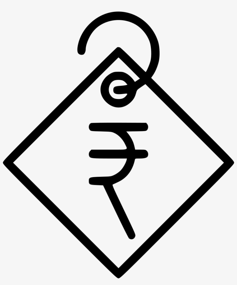 Indian Ru Currency Price Tag Ping Svg Png Icon