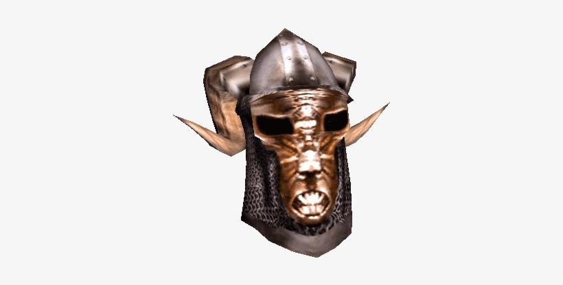 Skyrim Iron Helmet Png - Morrowind Helmet Transparent PNG