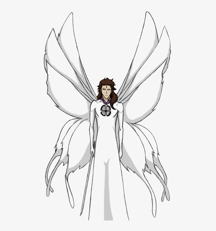 Aizen Third Form By Arrancarfighter On Deviantart Sōsuke Aizen Transparent Png 489x800 Free Download On Nicepng