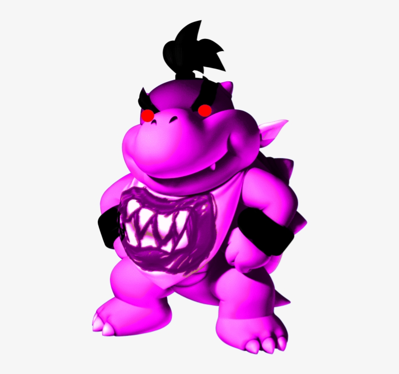Dark Vortex Bowser Jr - Bowser Jr Transparent PNG - 476x726 - Free