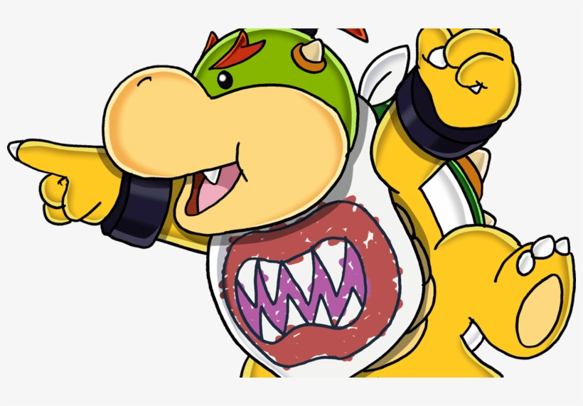 Bowser Jr Drawing Com Free For Personal Use Bowser Bowser