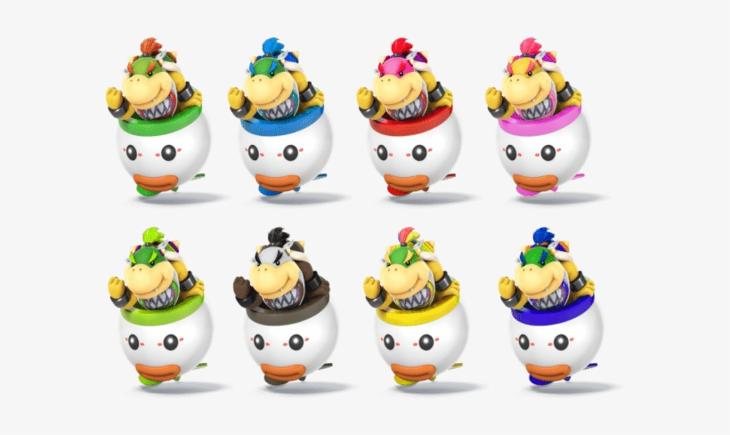 Bowser Jr Collor Palett By That Amiibo Super Smash Bros