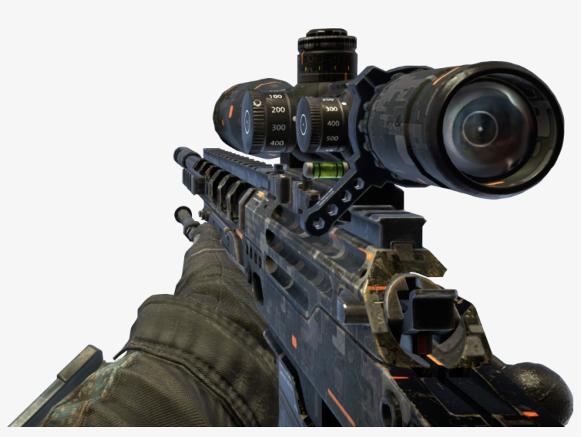 Black Ops 2 Sniper Png For Kids Bo2 Ghost Camo Ballista Transparent Png 969x683 Free Download On Nicepng