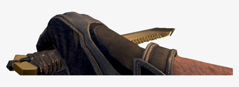 Filecombat Knife Gold Boii Call Of Duty Black Ops 2 Zipper Transparent Png 778x219 Free Download On Nicepng
