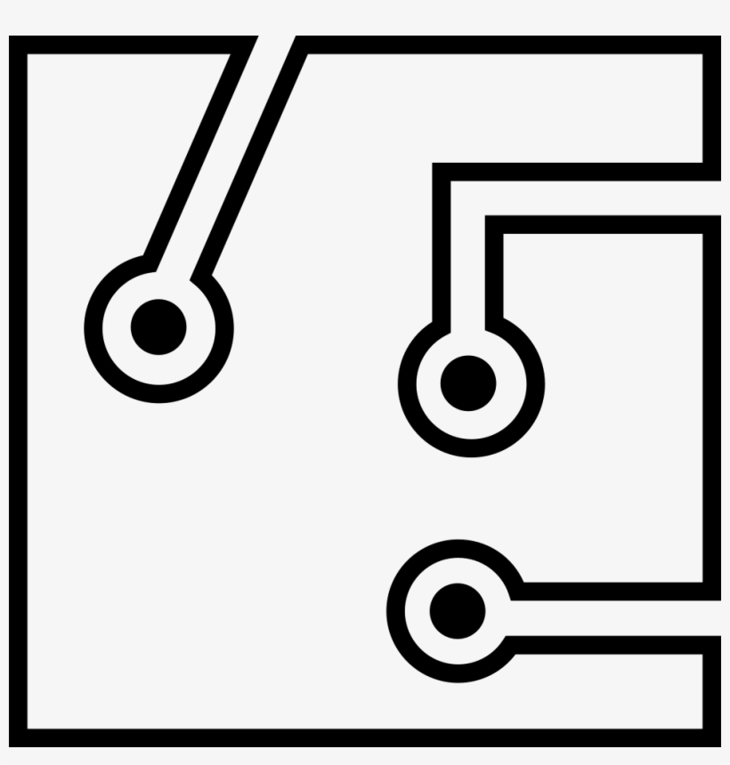 Outstanding Circuit Board Printed Wiring Board Symbol Transparent Png Wiring 101 Swasaxxcnl