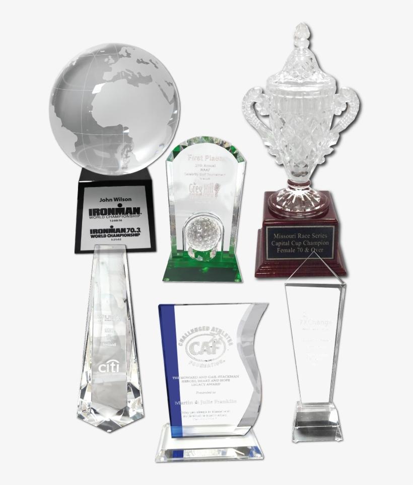 Custom Laser Engraved Awards - Trophy Transparent PNG