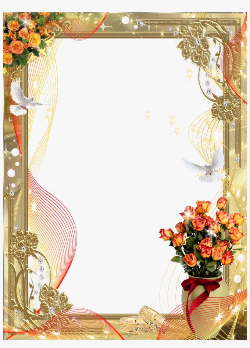 Wedding Frame Png Clipart Picture Frames Wedding - Wedding