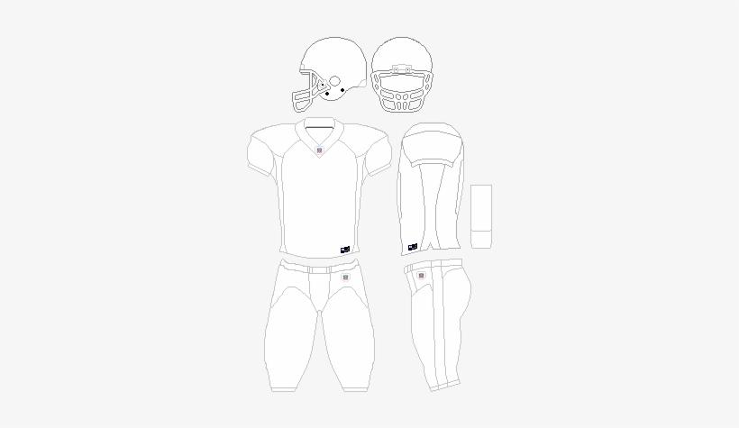Nfl Uniform Template V3 Nfl Football Jersey Template Transparent