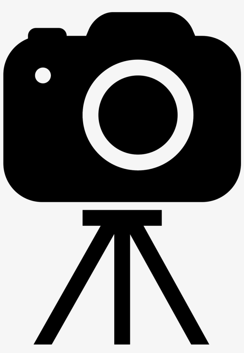 Camera On Tripod Filled Icon Photography And Videography Icon Transparent Png 1600x1600 Free Download On Nicepng